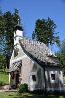 Die Waldkapelle in der die Trauung stattfand.