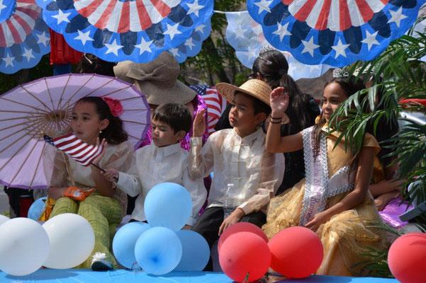Parade am 4. Juli