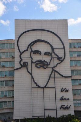 Che & Fidel sind überall präsent