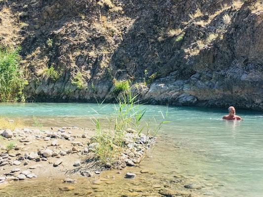 Urlaub am Fluss bei Divrigi