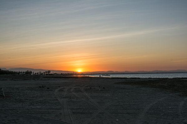 Sunset at Al Sawadi Beach