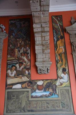 Die Wandgemälde von Diego Rivera