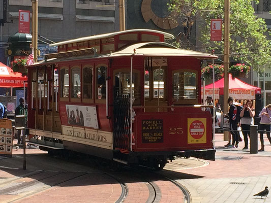 San Francisco - Market Street - Cable Car