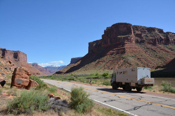 Scenic Road 128 to Moab