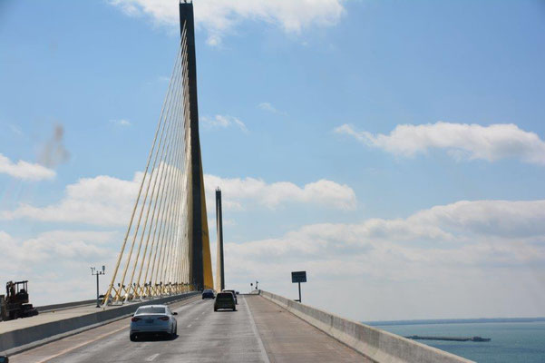 Impressive bridge constructions in Florida