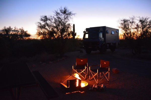 Lost Dutchman Campground östlichvon Phoenix