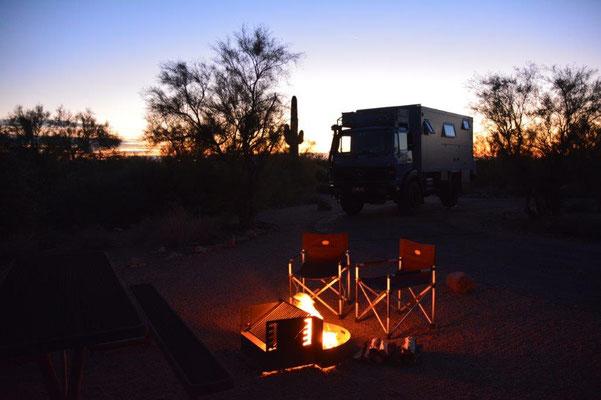 Lost Dutchman Campground östlichvon Phoenix