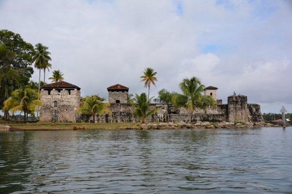 Bootstour nach Livingstone - Fort San Felipe