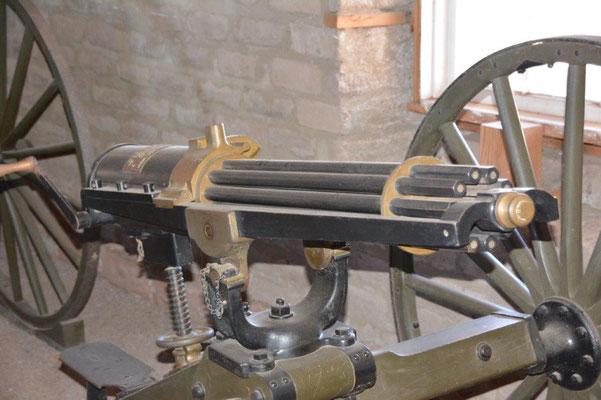 Fort Davis - Gatling Maschinengewehr