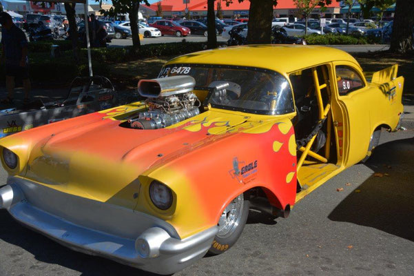 Oldtimer show in Campbell River