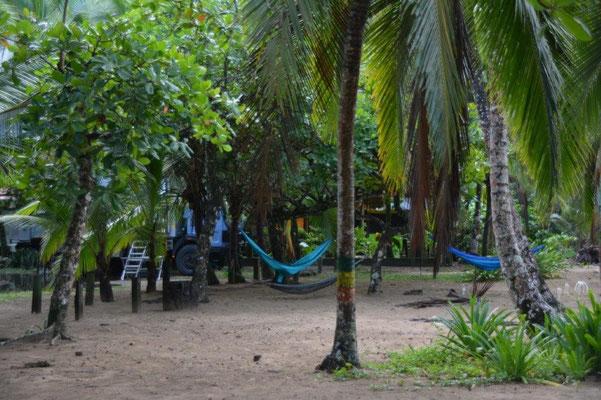 Unser Stellplatz in Punta Uvas