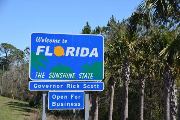 Willkommen in Florida