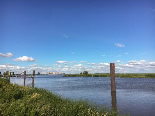 Elbe Überquerung