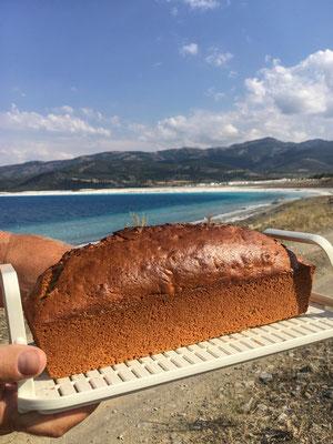 Salda Gölü - Happy Birthday cake