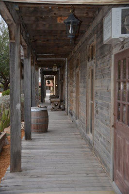Big Bend Ranch Statepark - nice Hotel