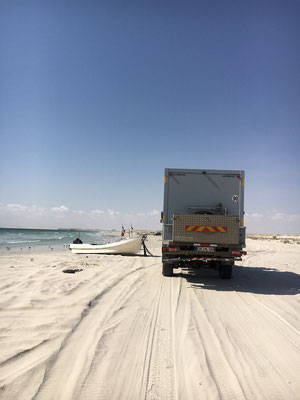 endlose weiße Sandstrände / endless beaches