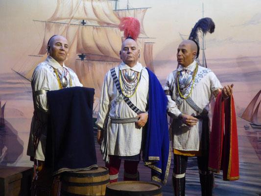 Cherokee Delegation zu Besuch bei König George II