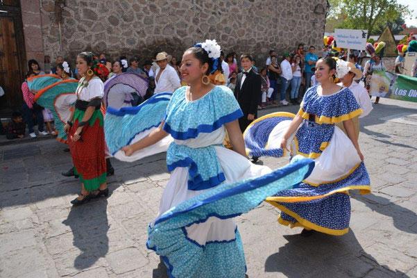 Fest zu Ehren des Schutzheiligen von San Miguel de Allende