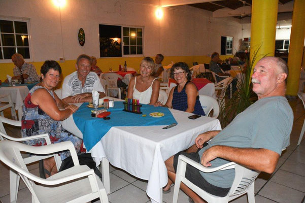 Dinner with friends in Lo de Marcos