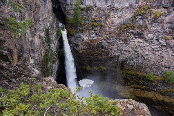 Wells Gray Park, Spahats falls