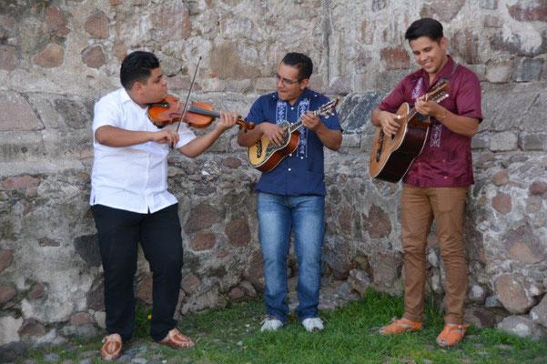 Musikanten in Topozotlan