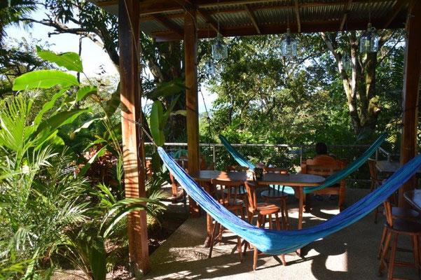Unser Stellplatz beim Hotel Costaverde