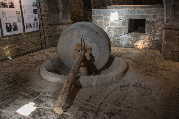 Kloster Tatev - Ölmühle