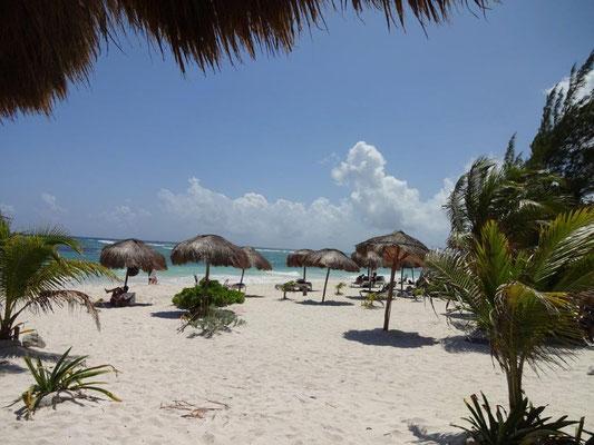 Beach in Xpu-Ha