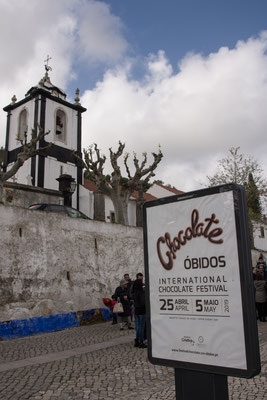 Chocolate Festival in Obidos