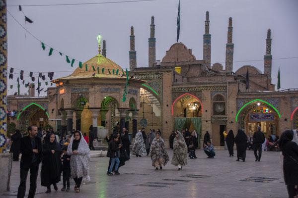 Mausoleum in Qazvin