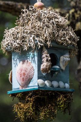 kunstvolles Vogelhäuschen in Liloeet