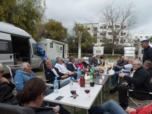 Lustige Runde mit Sloweniern