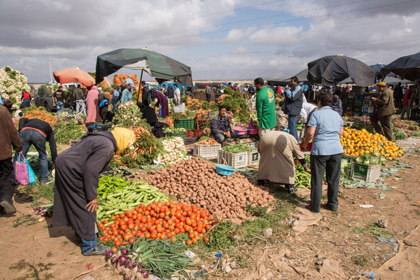 Sonntagsmarkt in Taroudant