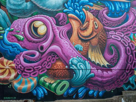 Halifax, Wandmalerei