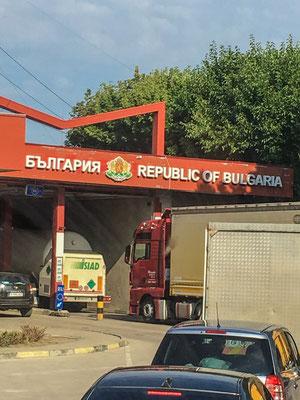 Grenzübergang Bulgarien