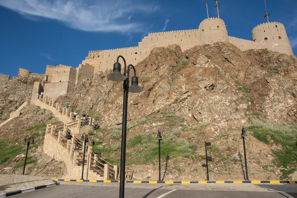 Festung in Mutrah / Fortress in Mutrah