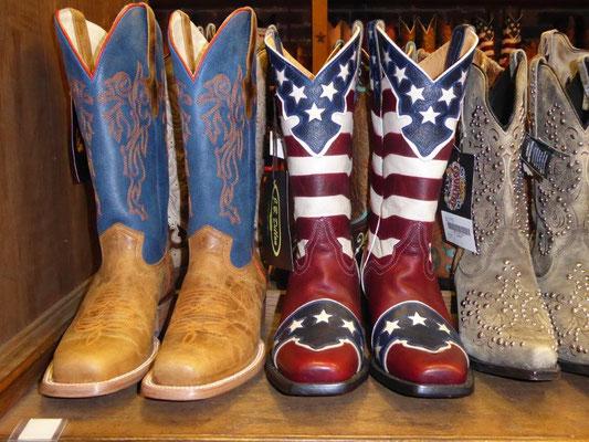 Cowboystiefel in Nashville