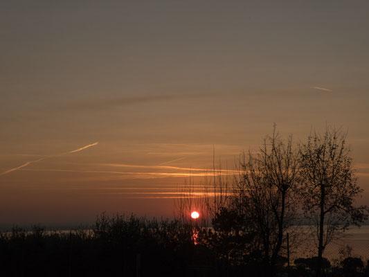 Sonnenuntergang in Sirmione
