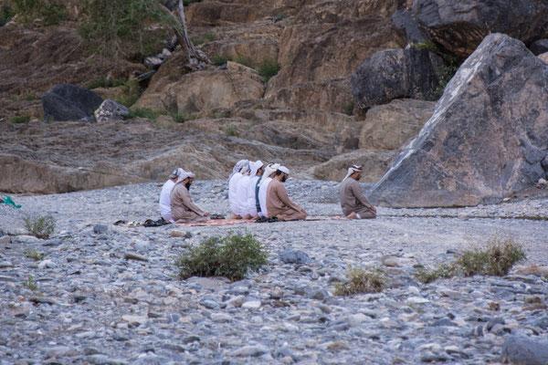 Gebetsstunde / Prayer hour