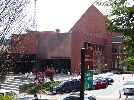Nashville - Ryman Auditorium