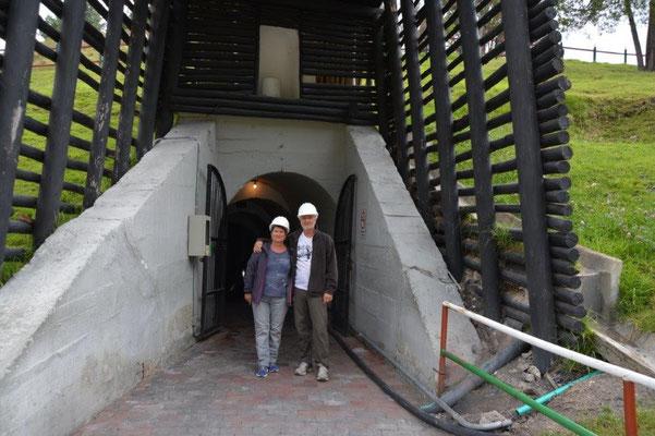 Eingang zur Salzmine in Nemocon