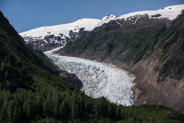 Salmom Glacier in Hyder