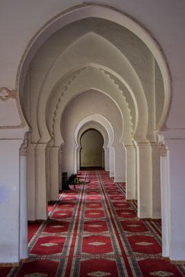 Blick in die Moschee