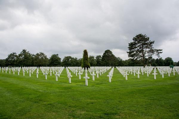 Omaha Beach - Amerikanischer Soldatenfriedhof