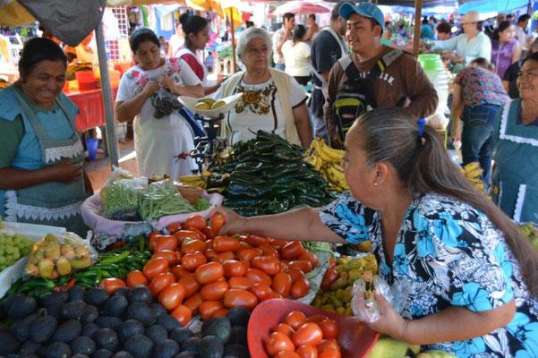 Market in Zaachila