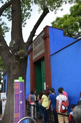 Frida Kahlo Museum - gut besucht