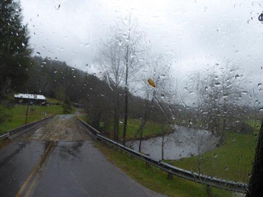Ab und zu haben wir auch mal Regen