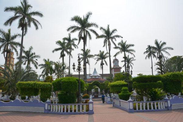 Plaza in Santiago Tuxtla