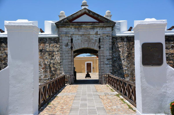 The fort in Acapulco