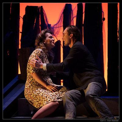 Pagliacci Leoncavallo role: Silvio; Opera Zuid, 2013 © Martin Jan Gaasbeek